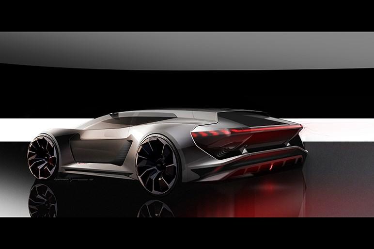 アウディ、電動高性能スポーツカー「PB18 e-tronコンセプト」をペブルビーチで初披露