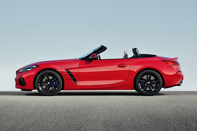 BMWが新型Z4ロードスターを発表。初回限定版は340psの直6を搭載
