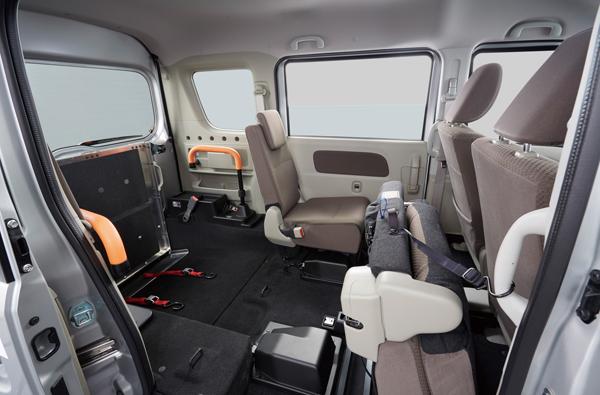 NV100クリッパー リオ「チェアキャブ」に運転支援システムを標準装備化