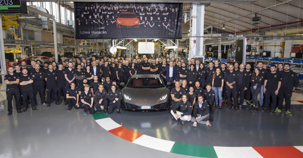 ランボルギーニ、ウラカンで生産台数の記録を更新。わずか5年間でガヤルドの生産数を抜く