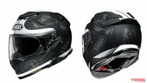 SHOEIヘルメット「GT-Air II」新グラフィックス追加【4月発売予定】