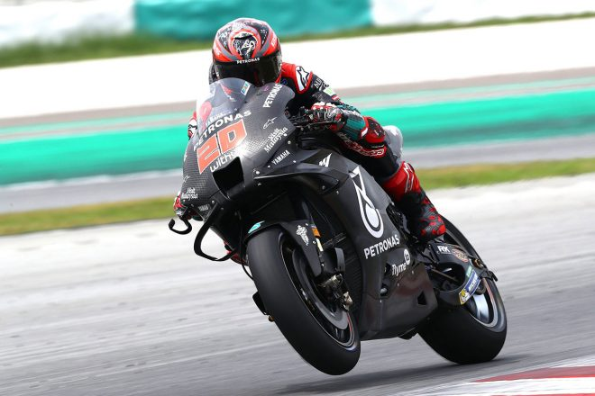 MotoGP:セパン公式テスト2日目もクアルタラロがファクトリーマシンでトップに。マルケス兄は前日タイムを更新