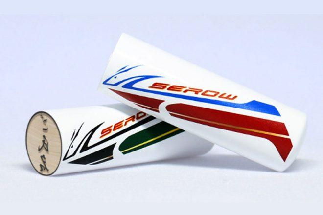 生産終了予定のセロー250。ヤマハ公認の『ファイナル・エディション』特製印鑑が発売