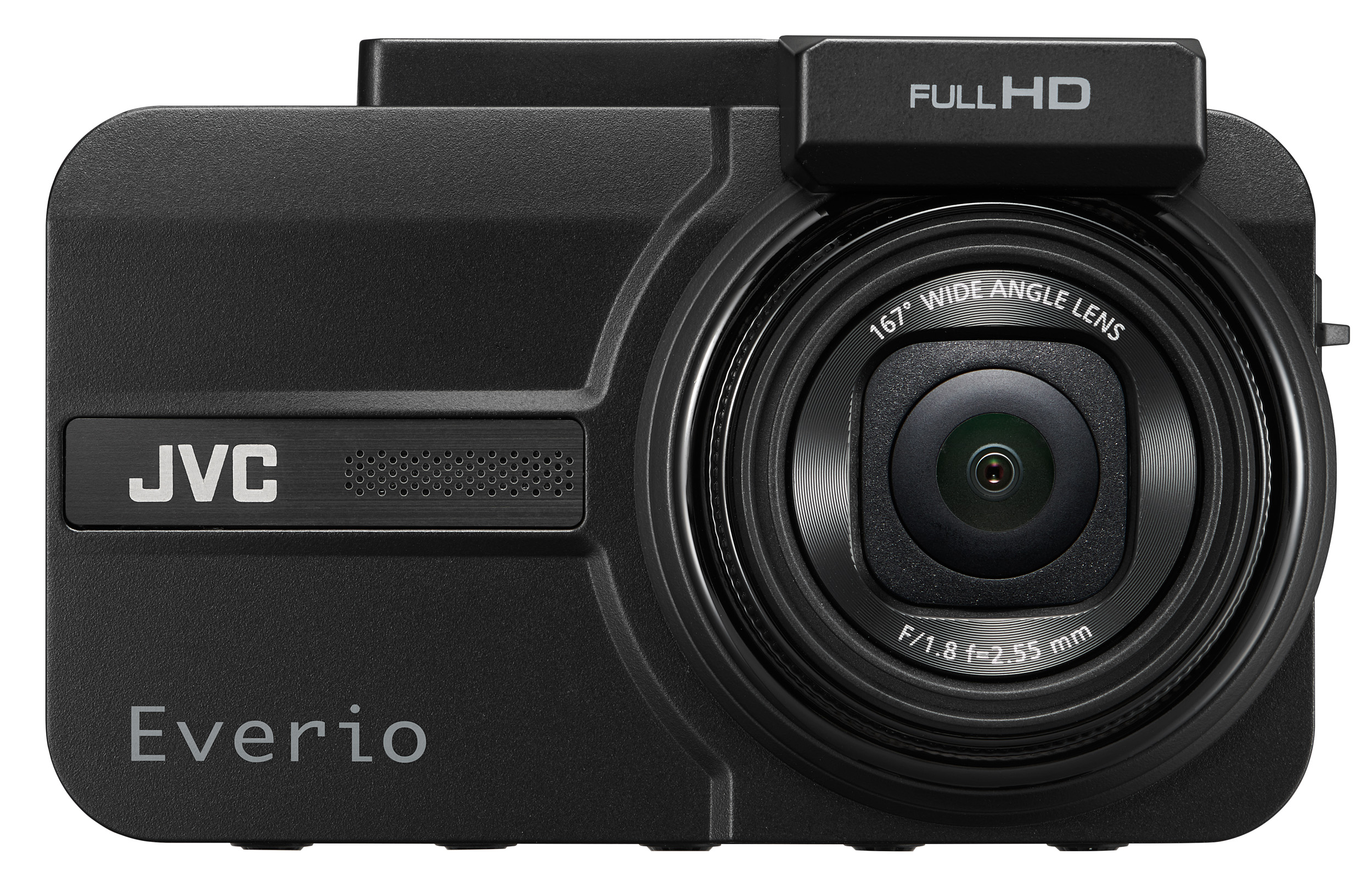 207万画素のフルハイビジョン画質であおり運転もしっかり記録するJVCの前後2カメラドライブレコーダー「Everio GC-TR100」