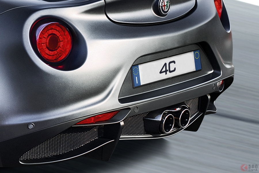 わずか40台限定… 専用カラーをまとったアルファロメオ「4C」特別モデル販売