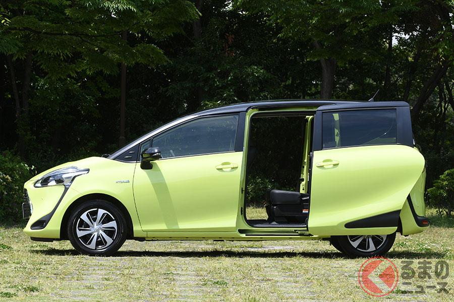 人気車はスライドドアが多い? スライド式とヒンジ式の長所と短所とは