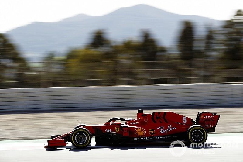 F1プレシーズンテスト後半2日目、午前はベッテルが最速。レッドブル・ホンダのフェルスタッペンは5番手