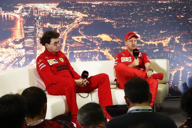 フェラーリF1代表&ベッテル「狙いどおり、コーナーで速いマシンを作り上げることができた」