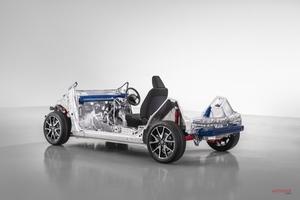 トヨタ 小型車用の新プラットフォームを公開 次期型ヤリス(ヴィッツ)に