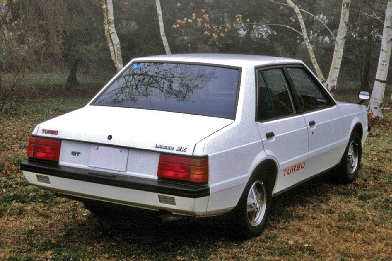 【昭和の名車 79】三菱 ランサーEX 1800GTターボ:昭和56年(1981年)