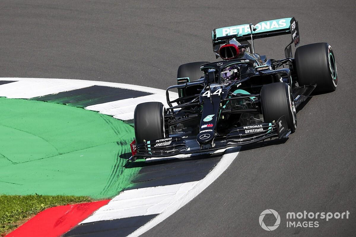 「難しかった1日だった」地元イギリスGP初日、ハミルトンはマシンバランスに苦戦
