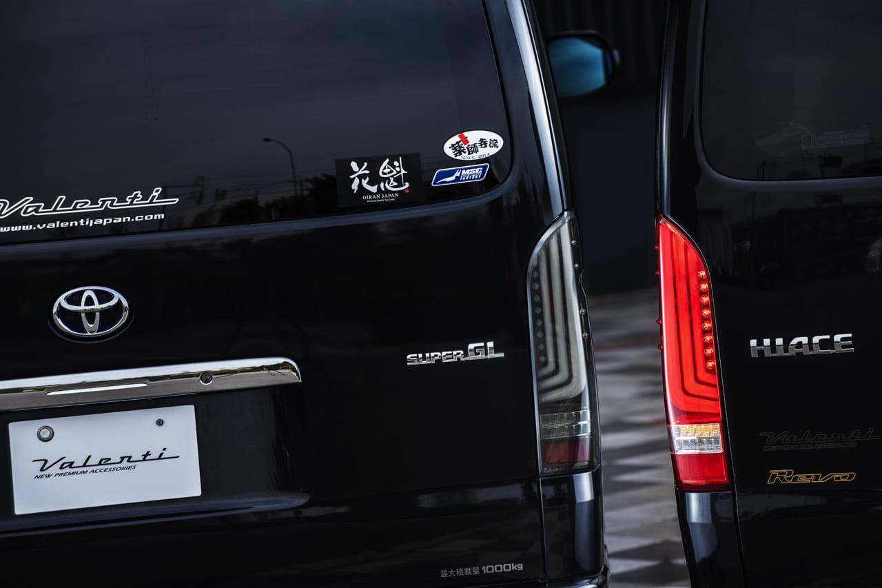 〈トヨタ・ハイエース〉時代の最先端 「流れる」を搭載した新作2アイテムが販売スタート!! Valenti