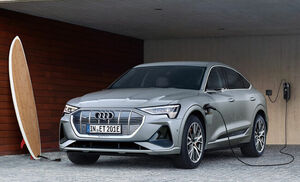 アウディが電気自動車の新型SUVクーペ「e-tronスポーツバック」の日本導入を9月に実施すると予告