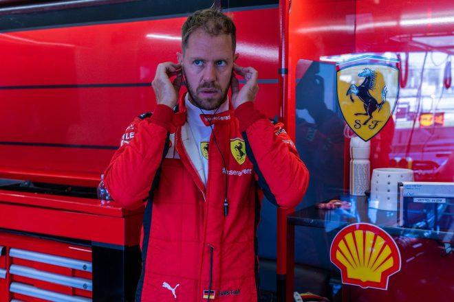 ベッテル18番手「トラブル続きでリズムをつかめなかった」フェラーリ【F1第4戦金曜】