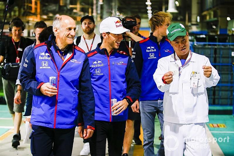 トロロッソのガスリー、ホンダの熱意を肌で実感。「素晴らしい体験だった」|F1日本GP