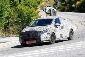 新型ルノー・クリオ(ルーテシア) 2019年発売へ 内外装、大きく変化