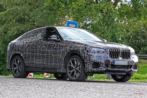 新型BMW X6 M、600ps越えに M5の4.4ℓV8搭載 2019年登場