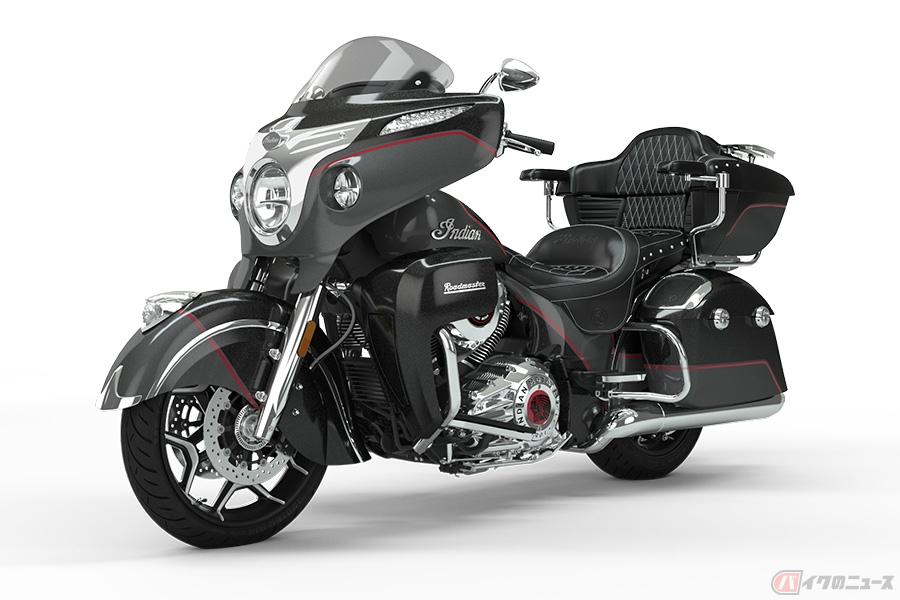 超絶豪華なインディアン「Roadmaster Elite」 世界225台限定のプレミアムなツーリングモデルが登場
