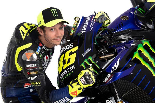 MotoGP:ヤマハファクトリーで最後のシーズンに臨むロッシ「チームも僕も準備はできているよ」