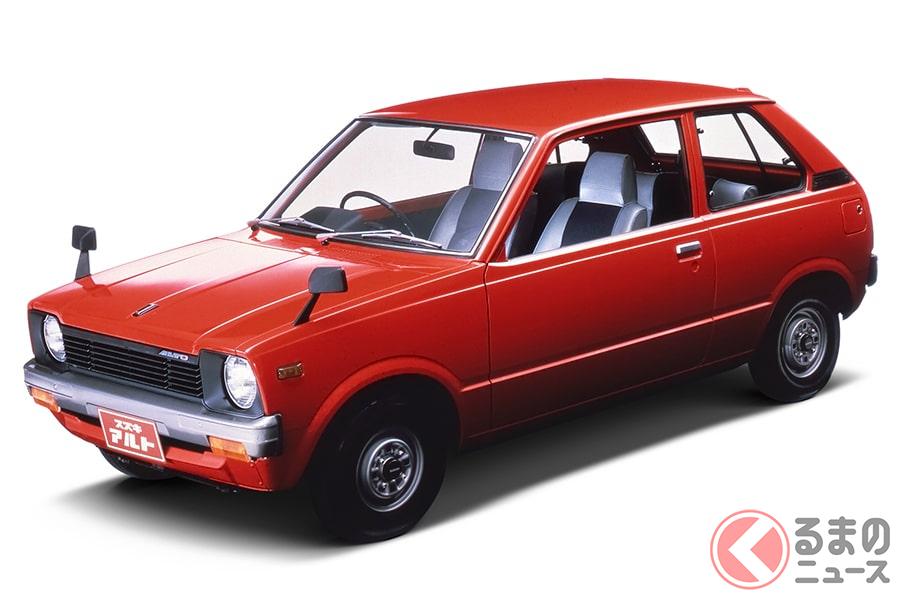 歴史を作った偉大な名車たち! スズキの軽自動車3選