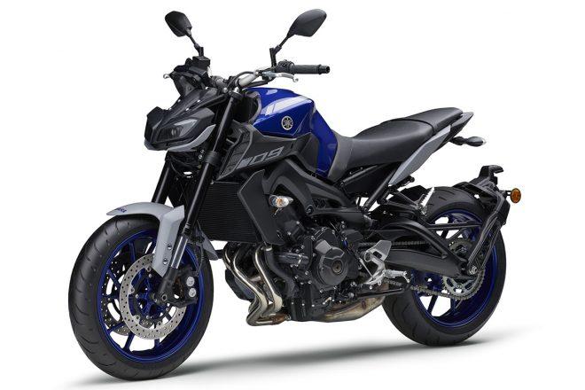 ヤマハ、スポーツバイク『MT-09 ABS』の新カラーを発売。ブルーとマットグレーを組み合わせ、スポーティなイメージを強化