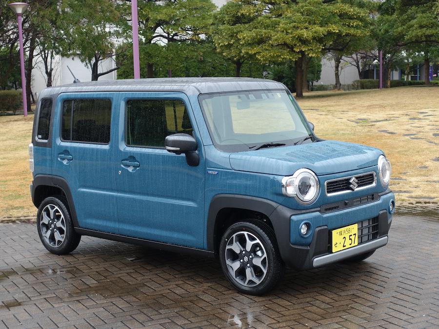 スズキ 新型ハスラー試乗記【動画】(FF・4WD/CVT)