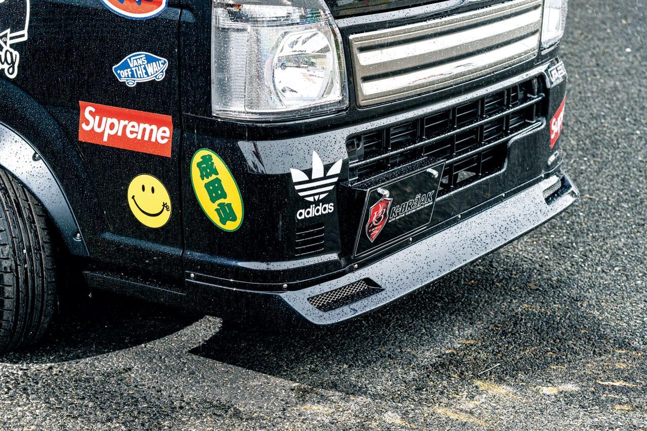イカツい新シリーズ「ベビーギャング」は古き良き改造車テイストを醸すレーシングスタイル|16キャリイ 500ハイゼット