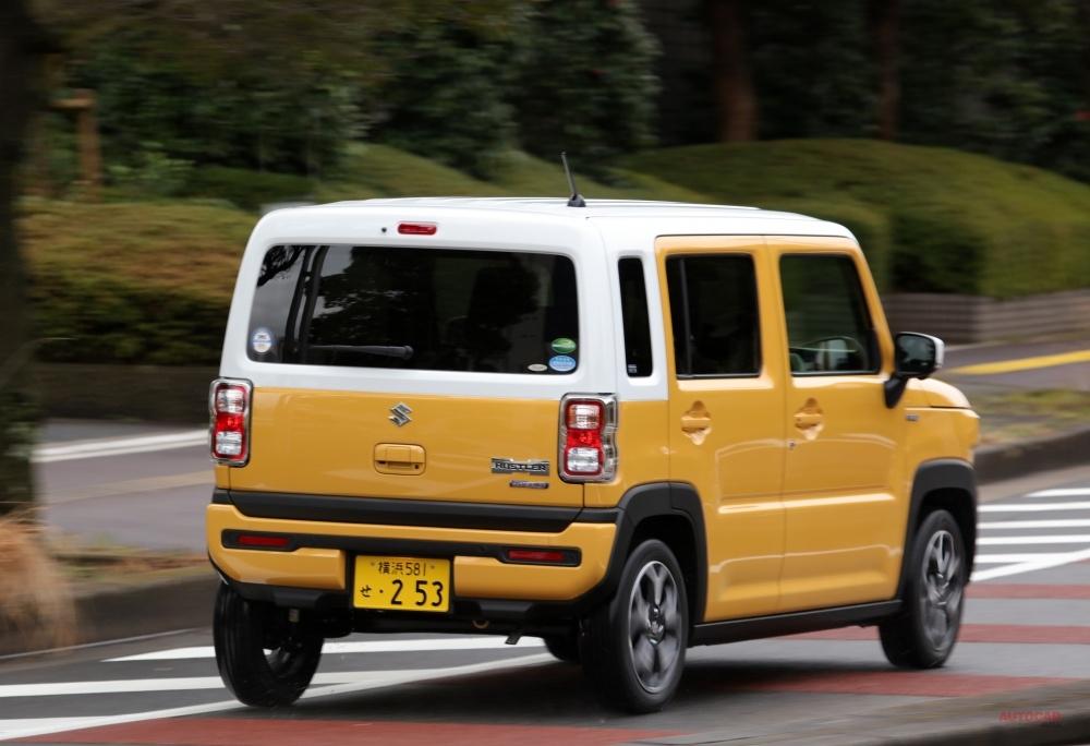 【比較試乗】スズキ新型ハスラー NA/ターボの走りは? 内装/安全装備を評価