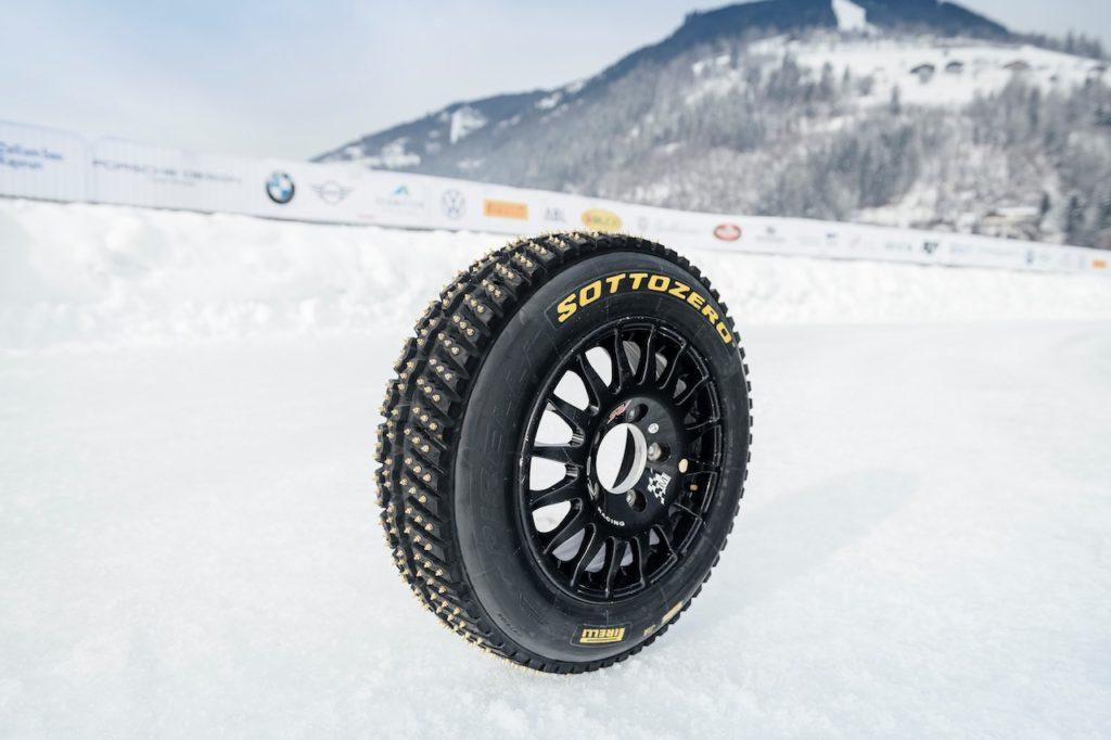 ピレリ、オーストリア開催の「GPアイスレース」でWRC用スパイクタイヤを発表