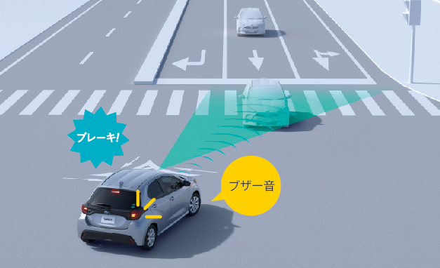 トヨタが自動ブレーキやペダル踏み間違い時の加速抑制機能を刷新、まずは新型ヤリスから