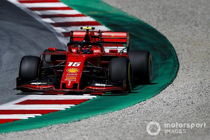 F1オーストリアFP3:ルクレールまたも最速。フェラーリVSメルセデスの構図に? レッドブル・ホンダのフェルスタッペン5番手