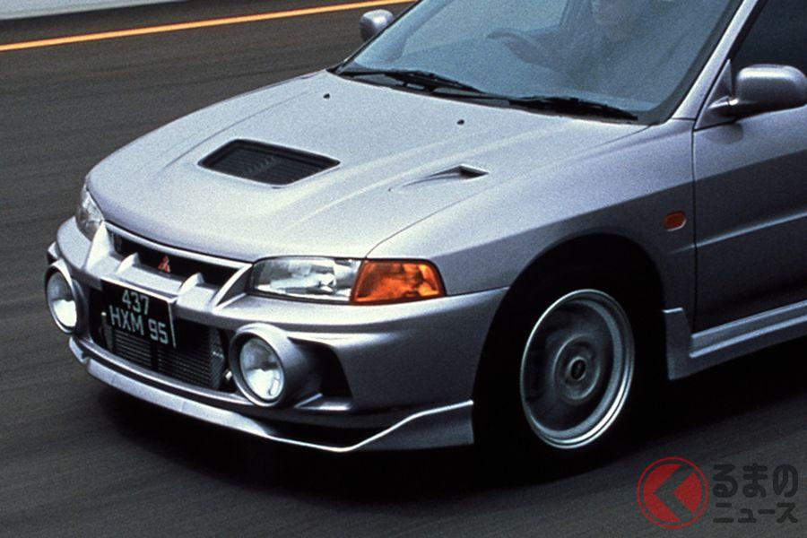 程度の良い中古車はプレミア価格も! 24年前に登場した三菱「ランエボIV」とは