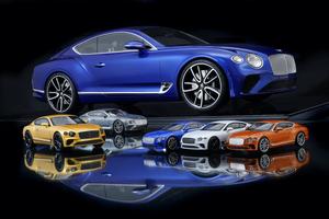 実車と同じペイントとマテリアルを選べるベントレー コンチネンタル GTの1/8スケールモデル、約100万円でオーダー開始