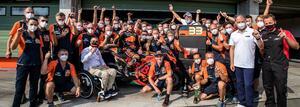 <MotoGP> いったい何が起こったんだ!~チェコGP、前代未聞の表彰台の面々