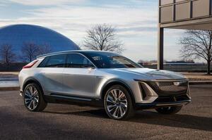 【アメ車SUVの新基準】キャデラック初の量産EV、リリック 航続距離/内装が明らかに