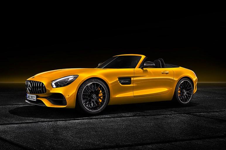 独メルセデス、AMGのフラッグシップに新モデル GT Sロードスターを発表
