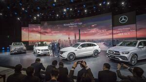 メルセデス・ベンツは中国市場でSUV推し! 「GLB」を世界初公開し、EQC、GLEは国内初公開【上海モーターショー2019】