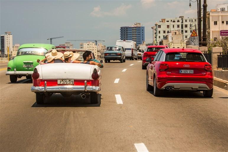 ステージはキューバ。新型アウディQ2のスペシャルな試乗会をレポート