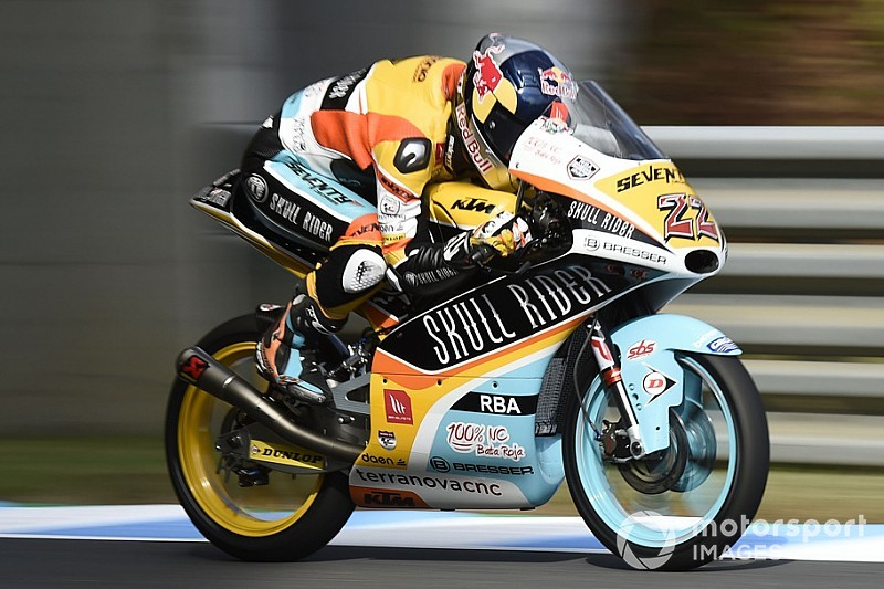 Moto3日本GP予選:ロドリゴPP獲得、真崎一輝8位。佐々木歩夢&鈴木竜生は痛恨の転倒