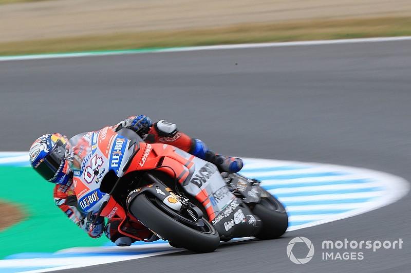 MotoGP日本GPフリー走行3回目:ドヴィツィオーゾ最速。ロッシ土壇場でQ2進出を決める