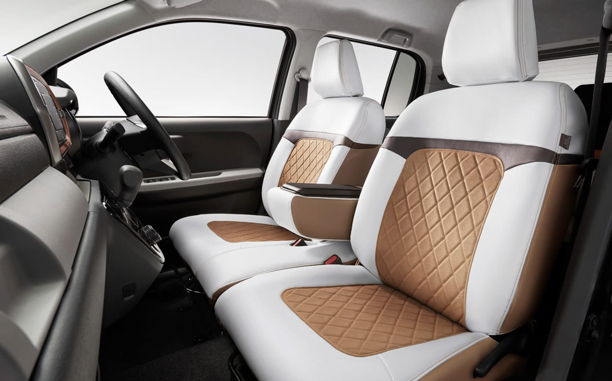 新型トヨタ・パッソのMODAシリーズをもっと上質に仕立てるモデリスタのお洒落アイテム