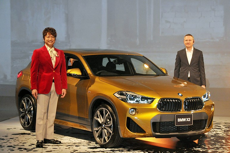 新型コンパクトSUV、BMW X2を日本発売。エンジンは2機種で436万円から