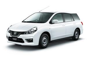 三菱 商用車のランサーカーゴに自動ブレーキなどの予防安全装備を標準化