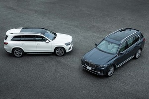 【比較試乗】「メルセデス・ベンツGLS vs BMW X7」7シーターはSUVの時代へ