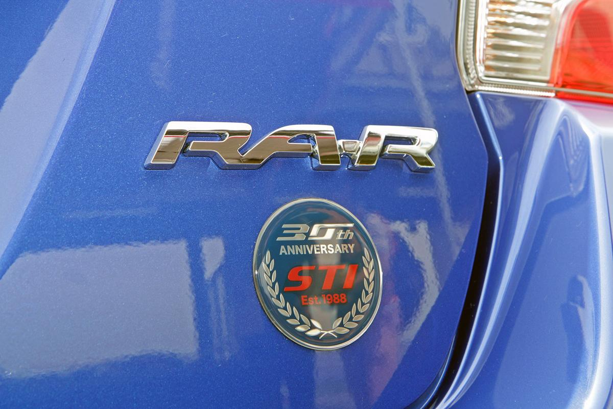 STIが噂の「スバルWRX STI TYPE RA-R」を公開! 車両を徹底チェックした