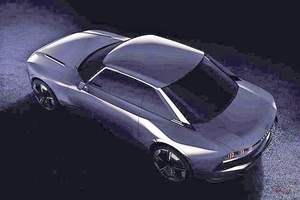 プジョー、レトロなコンセプトをパリ公開 504クーペ彷彿 電動車か