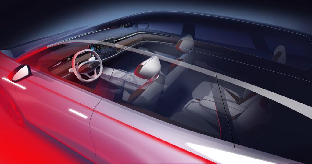 フォルクスワーゲンがEVワゴンのコンセプトカー「ID.SPACE VIZZION」をロサンゼルス・オートショーで初公開すると予告!