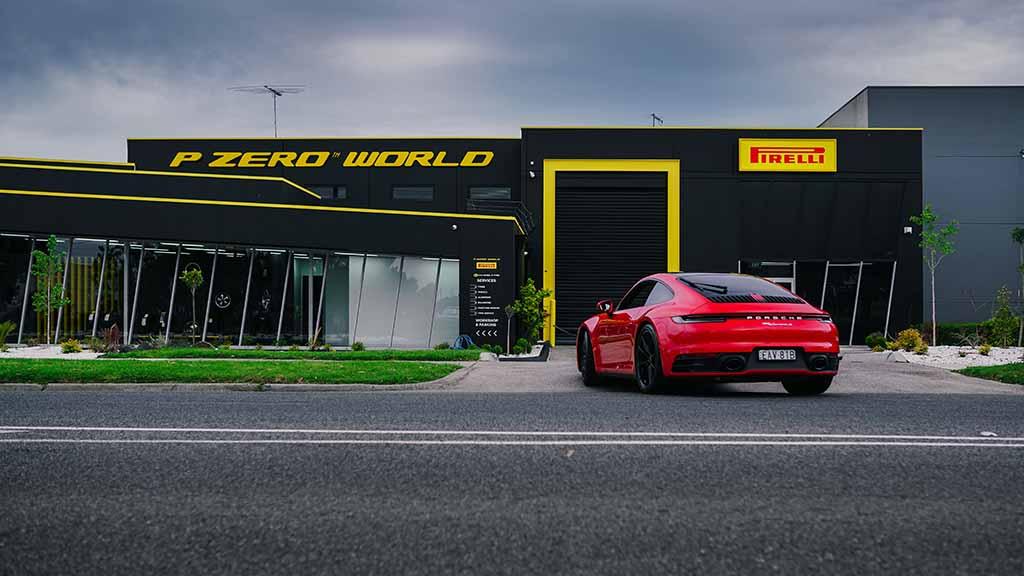 """""""タイヤのブティック""""「ピレリPゼロ ワールド」の5店舗目がオーストラリア・メルボルンにオープン!"""