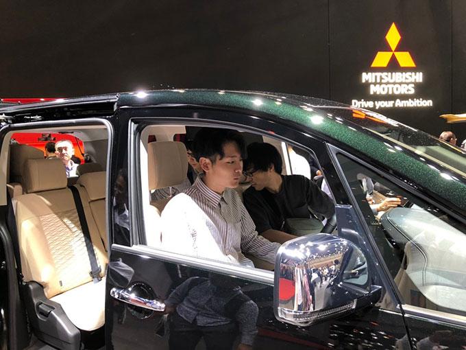 東京モーターショーでは体験ブースが盛りだくさん。 やっぱり乗り物は体験することで楽しめる!!
