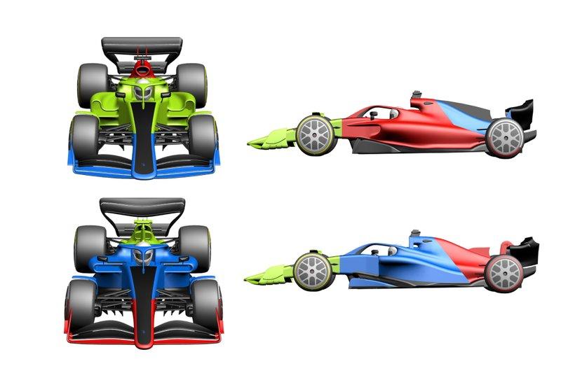 6輪車にウイングカー、ロマンがあったあの時代をもう一度……2021年F1マシンは画一化を食い止める?